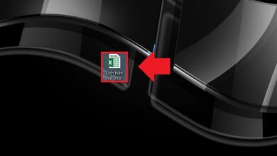 Cách chuyển file Excel sang PDF
