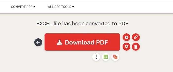 Chọn Download PDF