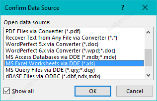 Cách giữ định dạng từ Excel trong Mail Merge