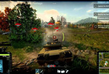 Game bắn tank Armored Warfare