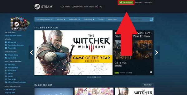 Cách mua game trên Steam bằng thẻ Visa hoặc Mastercard (1)