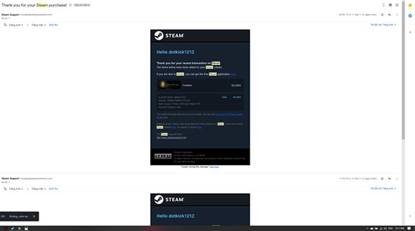 Cách mua game trên Steam bằng thẻ Visa hoặc Mastercard (7)