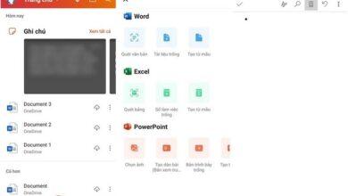 Microsoft Office - ứng dụng văn phòng cho điện thoại Android